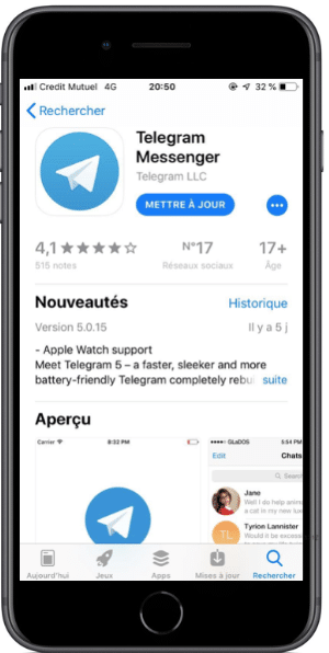 Télécharger l'application forex et crypto telegram