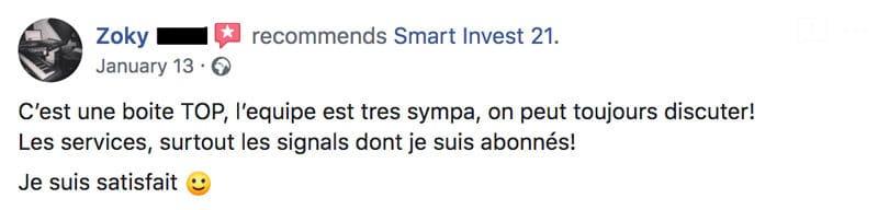Smart Invest 21 avis